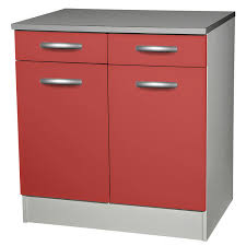 meuble cuisine avec tiroir meuble bas de cuisine avec porte et tiroir 80cm of