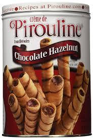 amazon com creme de pirouline choc hazelnut cookies 32 oz