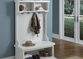 bench with shoe storage and coat rack home decorating interior