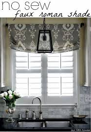 kitchen curtain ideas diy best 25 kitchen window treatments ideas on kitchen