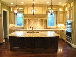 Distance Between Island And Cabinets Kitchen Room 2017 Kitchen Island Chandelier Lighting White