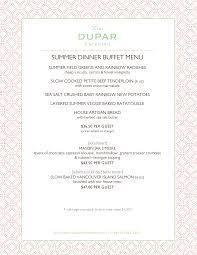 Sample Buffet Menus by Dupar U0026 Company Lisa Dupar Catering Best Seattle Wa Caterer