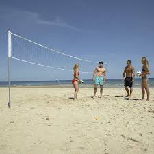 amazon com franklin sports expert steel volleyball post and net