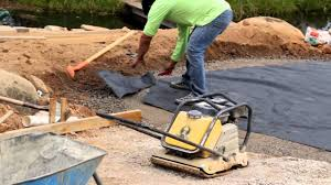 installing patio pavers belgard paver installation driveway and backyard patio