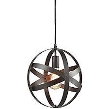 Sphere Pendant Light Truelite Industrial Metal Spherical Pendant Displays Changeable