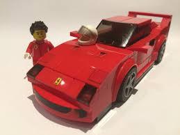 lego ideas ferrari f40 lego speed champions