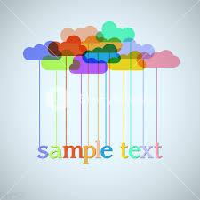 clouds of rainbow royalty free stock image storyblocks