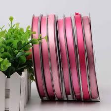 satin ribbon satin ribbons hot pink satin ribbon