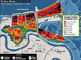 New Orleans Flood Map by Breaking Brian Williams Gives 2 Contradictory Stories About Dead