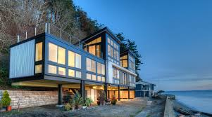 resilient waterfront house can stand up to mudslides ecobuilding