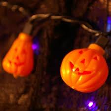 halloween string lights pumpkins jack o lanterns 5 5 feet