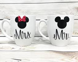 His And Hers Wedding Gifts Minnie Mouse Couples Etsy