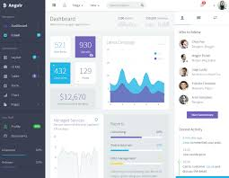 top 10 bootstrap html5 admin panel dashboard templates