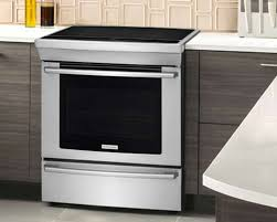 Cooktop Range With Downdraft Compare Electrolux Induction Dual Fuel Electric Gas Ranges With