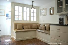 kitchen builtn kitchen bench seating and table design drawing