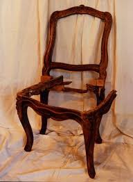 chaise cass e amibois chaise louis xv