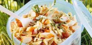 cuisiner le surimi salade de pâtes au surimi facile et pas cher recette sur cuisine