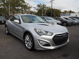 hyundai genesis 2 door coupe hyundai genesis coupe 2 door in jersey for sale used cars