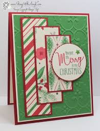 stampin u0027 up my hero christmas card stamp with amy k ronald