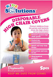 disposable chair covers disposable high chair cover