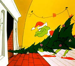 grinch christmas tree book brawl a christmas carol vs how the grinch stole christmas