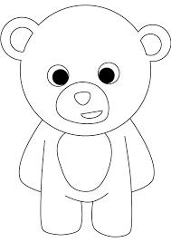 8 images cartoon bear coloring pages print cartoon bear