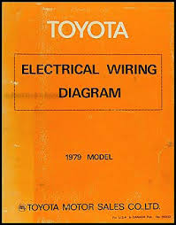 1979 toyota electrical wiring diagram original choose your model