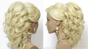 bridal wedding hairstyle for long hair wedding prom hairstyles for long hair bridal hairstyles makeup