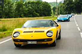 lamborghini miura what it u0027s like to drive lamborghini u0027s most beautiful car the verge
