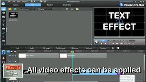 powerdirector slideshow templates powerdirector text effects