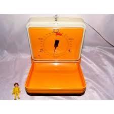 soehnle balance cuisine balance cuisine murale soehnle orange ées 70 vintage au dépôt