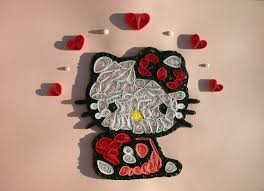 hello kitty quilling quiling pinterest quilling hello