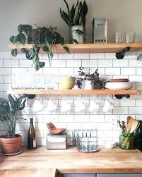 open shelving in kitchen ideas kitchen shelf decor petrun co