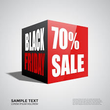 black friday banner black friday banner design 3d cubic style free vector in adobe