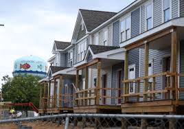 a c housing development building 90 affordable apartments on
