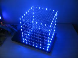 Infinity Led Light Bulbs by Infinite Rgb Led Cube Table Part 1
