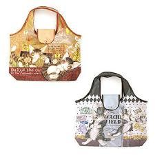 eco bag wachifield dayan the cat art eco bag tokyo otaku mode shop