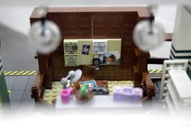 Lego Office Venkman Office By Orion Pax Ghostbusters Lego Gallery