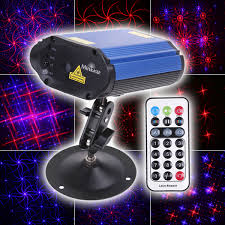 12v led disco lights mini projector voice control laser stage lighting club disco party