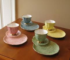 51 best treasures tea cups and snack plates images on