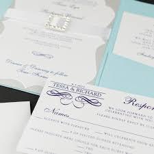 light blue wedding invitations light blue and silver wedding invitations too chic little shab
