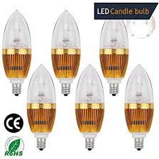 ledmo led candle bulbs e12 3w 25w equivalent white 270lm cri80