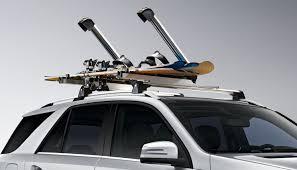 porta snowboard per auto portasci e porta snowboard comfort trasporto sul tetto per classe