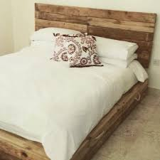 How To Make Bed Frame Top 62 Recycled Pallet Bed Frames Diy Pallet Collection