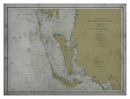 Sanibel Island Florida Map by Florida Map Old Map Of Charlotte Harbor Gasparilla Cayo