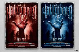 free halloween flyer background halloween flyer template v9 horror night flyer design