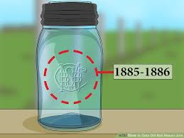 ball mason how to date old ball mason jars with pictures wikihow