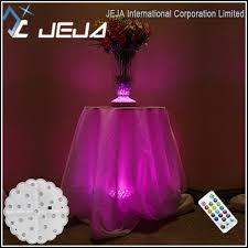 wholesale led under table lights table led bases for glass tables under glas table lights for