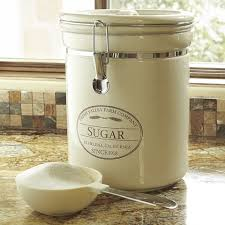 airtight kitchen canisters chefs fresh valley airtight canister sugar flour brown sugar