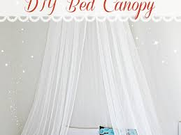 diy canopy bed from pvc pipes home design